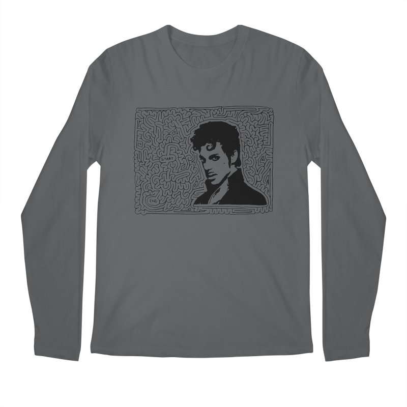 Prince Men's Regular Longsleeve T-Shirt by I Draw Mazes's Artist Shop
