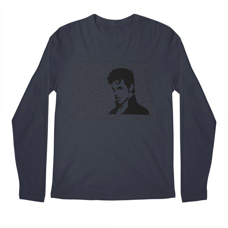 Prince Men's Longsleeve T-Shirt by idrawmazes's Artist Shop