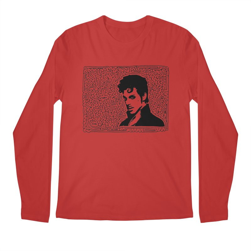 Prince Men's Regular Longsleeve T-Shirt by I Draw Mazes's Artist Shop