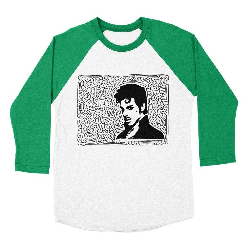 Prince Women's Baseball Triblend T-Shirt by idrawmazes's Artist Shop