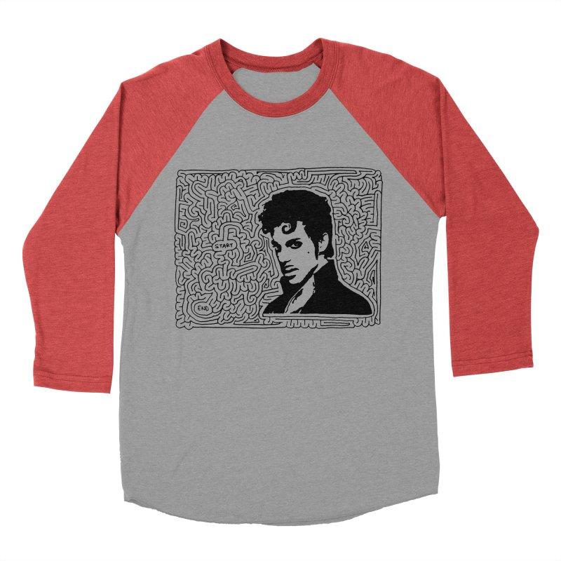 Prince Men's Baseball Triblend T-Shirt by idrawmazes's Artist Shop