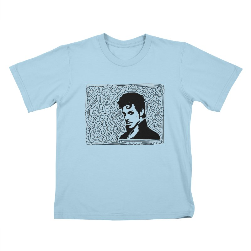 Prince Kids T-Shirt by I Draw Mazes's Artist Shop