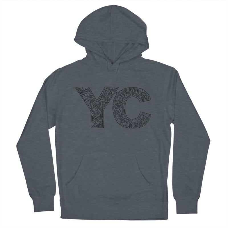 YC Men's Pullover Hoody by idrawmazes's Artist Shop