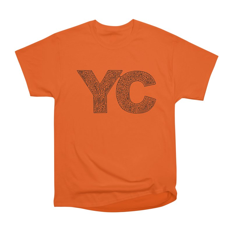 YC Women's Heavyweight Unisex T-Shirt by idrawmazes's Artist Shop
