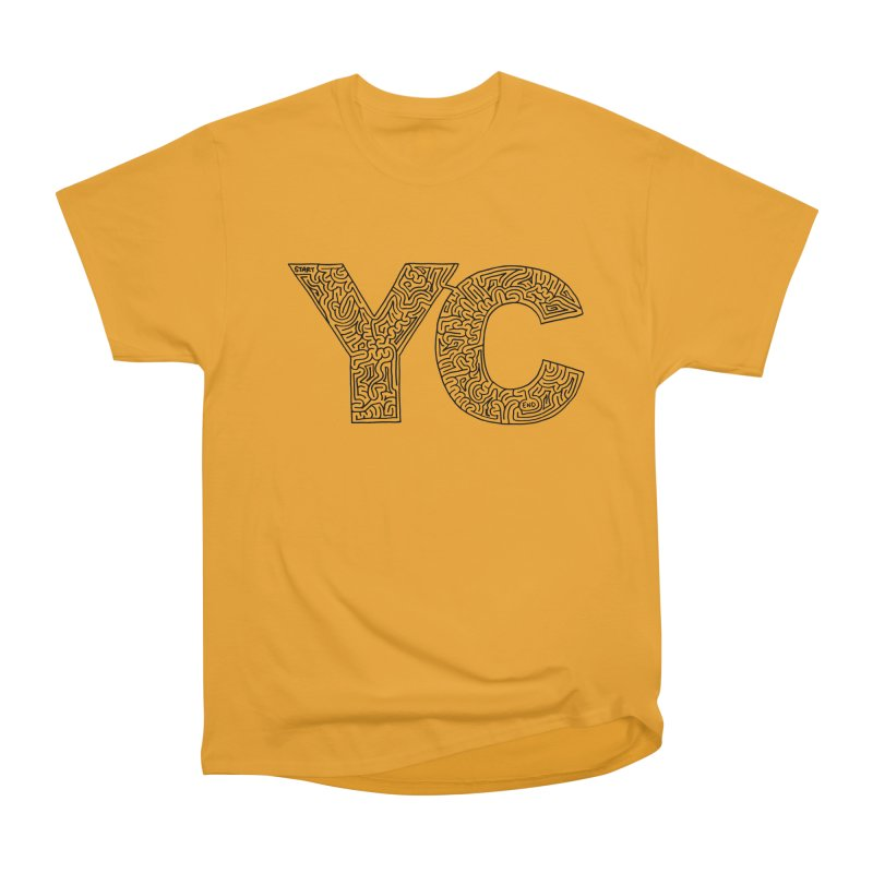 YC Men's Classic T-Shirt by idrawmazes's Artist Shop