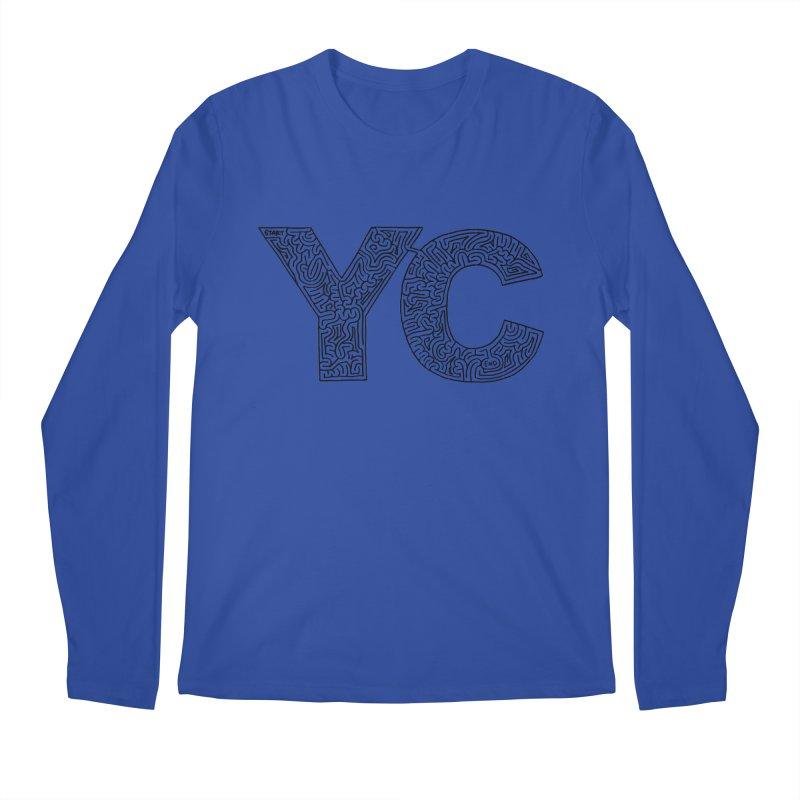 YC Men's Longsleeve T-Shirt by idrawmazes's Artist Shop
