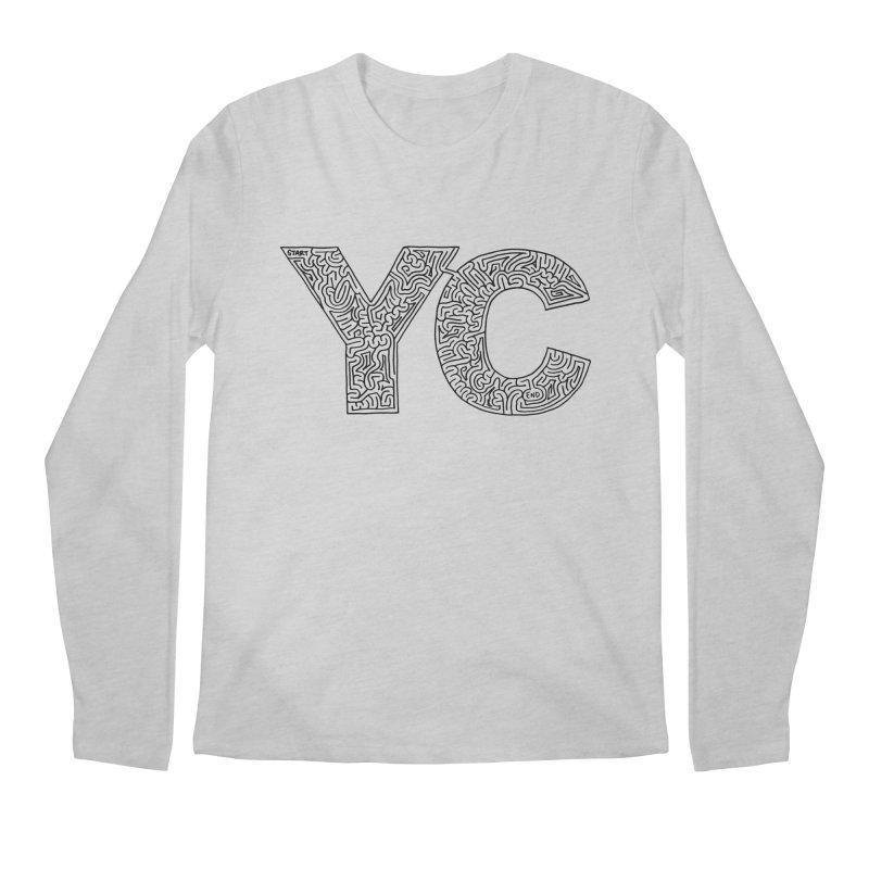 YC Men's Regular Longsleeve T-Shirt by I Draw Mazes's Artist Shop