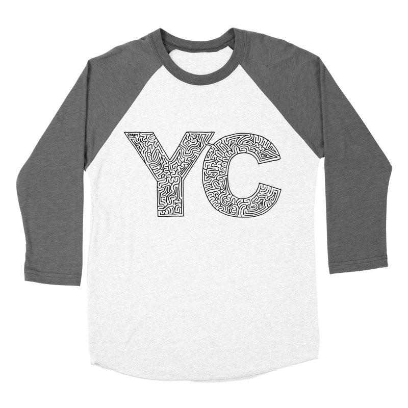 YC Men's Baseball Triblend T-Shirt by idrawmazes's Artist Shop