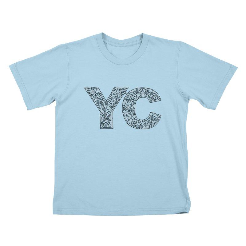YC Kids T-Shirt by idrawmazes's Artist Shop