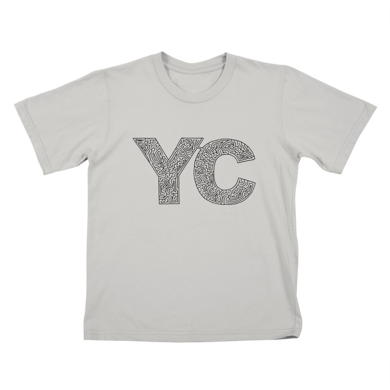 YC Kids T-shirt by idrawmazes's Artist Shop