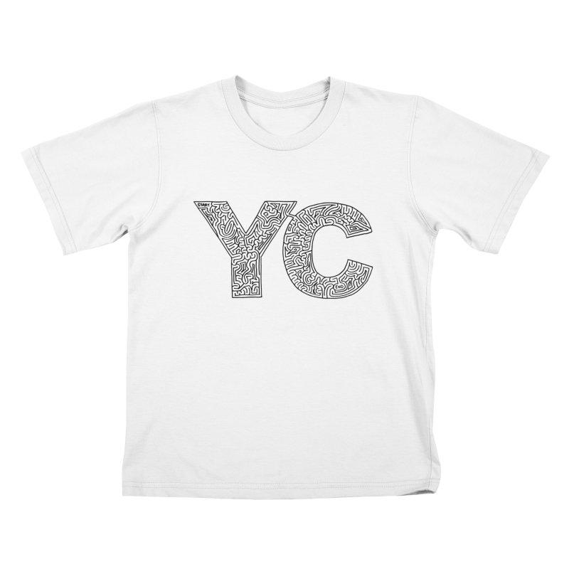 YC Kids T-Shirt by I Draw Mazes's Artist Shop