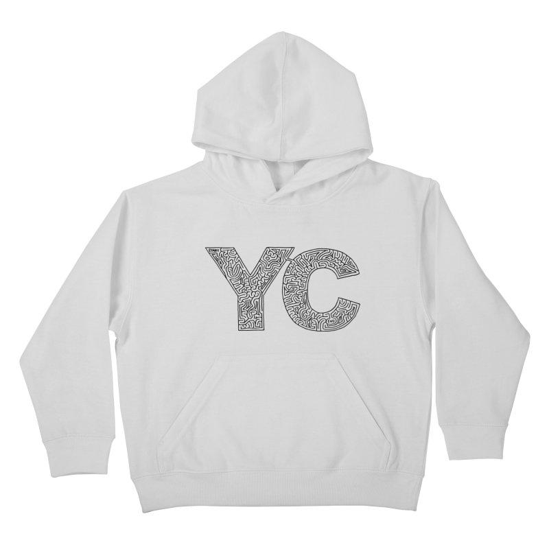 YC Kids Pullover Hoody by idrawmazes's Artist Shop