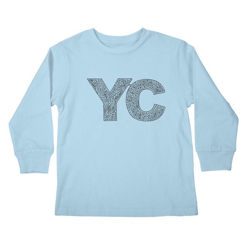 YC Kids Longsleeve T-Shirt by idrawmazes's Artist Shop