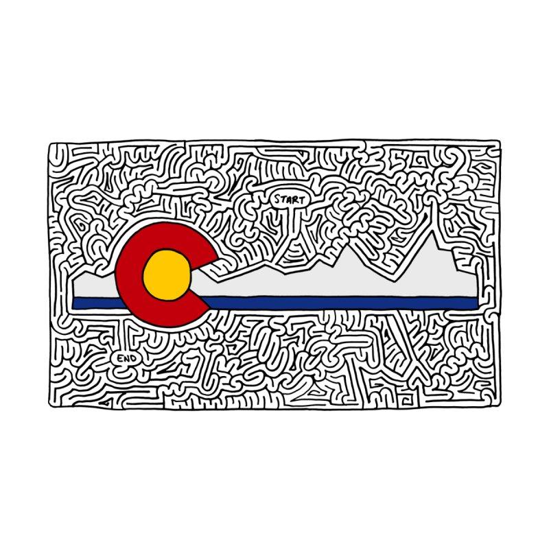 Colorado Maze by idrawmazes's Artist Shop
