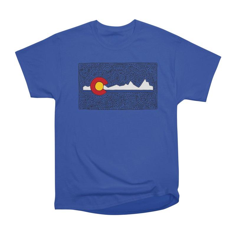 Colorado Maze Men's Classic T-Shirt by idrawmazes's Artist Shop