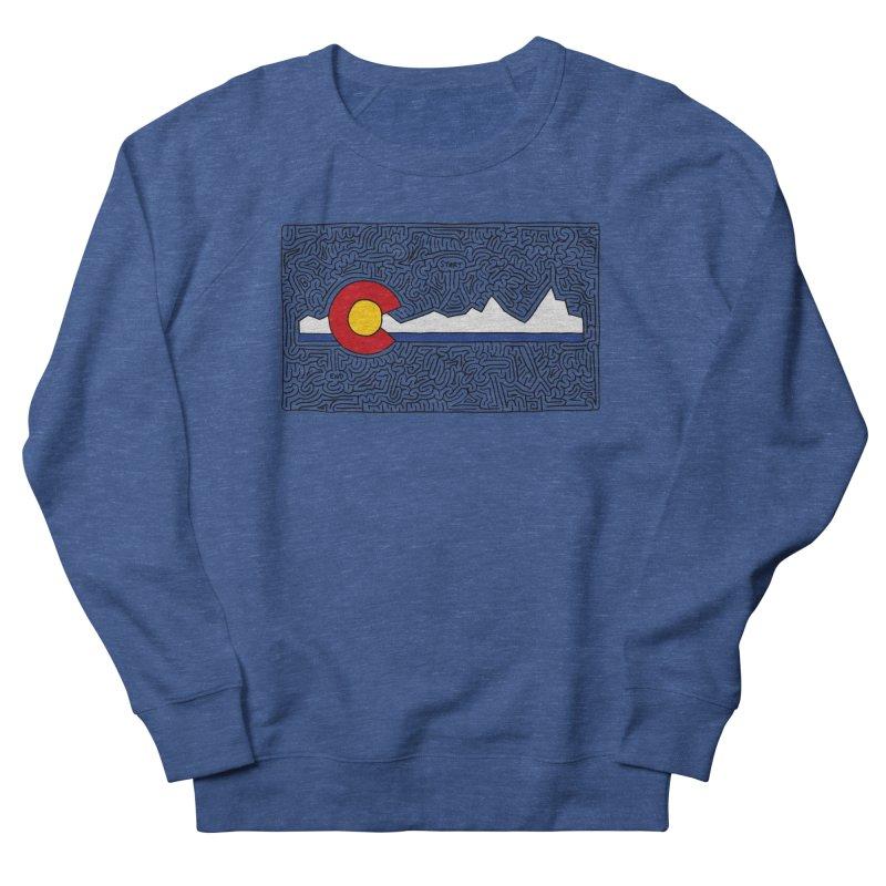 Colorado Maze Men's Sweatshirt by idrawmazes's Artist Shop