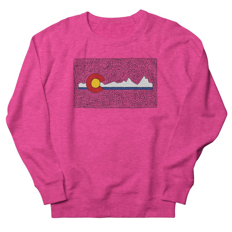 Colorado Maze Men's Sweatshirt by idrawmazes's Artist Shop