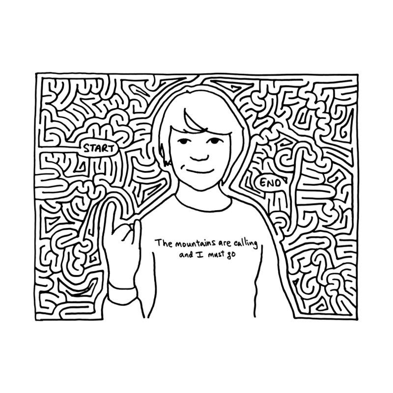 Blake maze by idrawmazes's Artist Shop