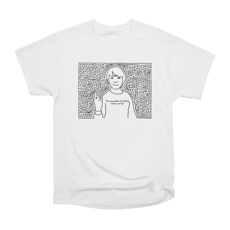 Blake maze Men's Classic T-Shirt by idrawmazes's Artist Shop