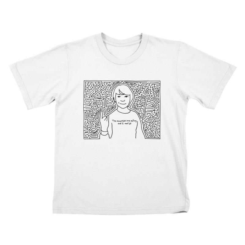 Blake maze Kids T-Shirt by I Draw Mazes's Artist Shop
