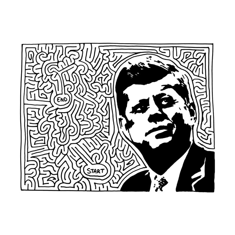 JFK maze by idrawmazes's Artist Shop