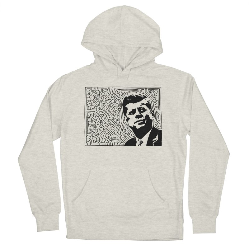 JFK maze Women's Pullover Hoody by idrawmazes's Artist Shop
