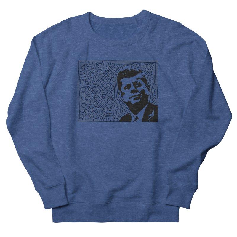 JFK maze Men's Sweatshirt by idrawmazes's Artist Shop