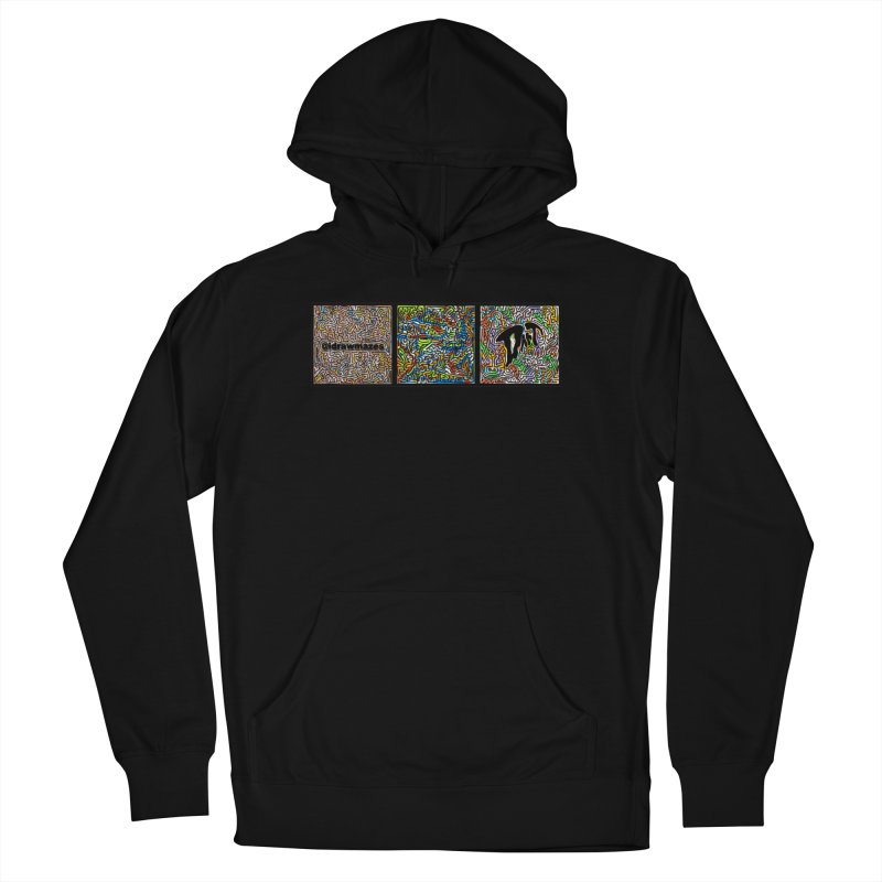 idrawmazes x dart collabo Men's French Terry Pullover Hoody by I Draw Mazes's Artist Shop