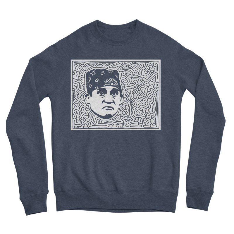 Prison Mike Women's Sponge Fleece Sweatshirt by I Draw Mazes's Artist Shop