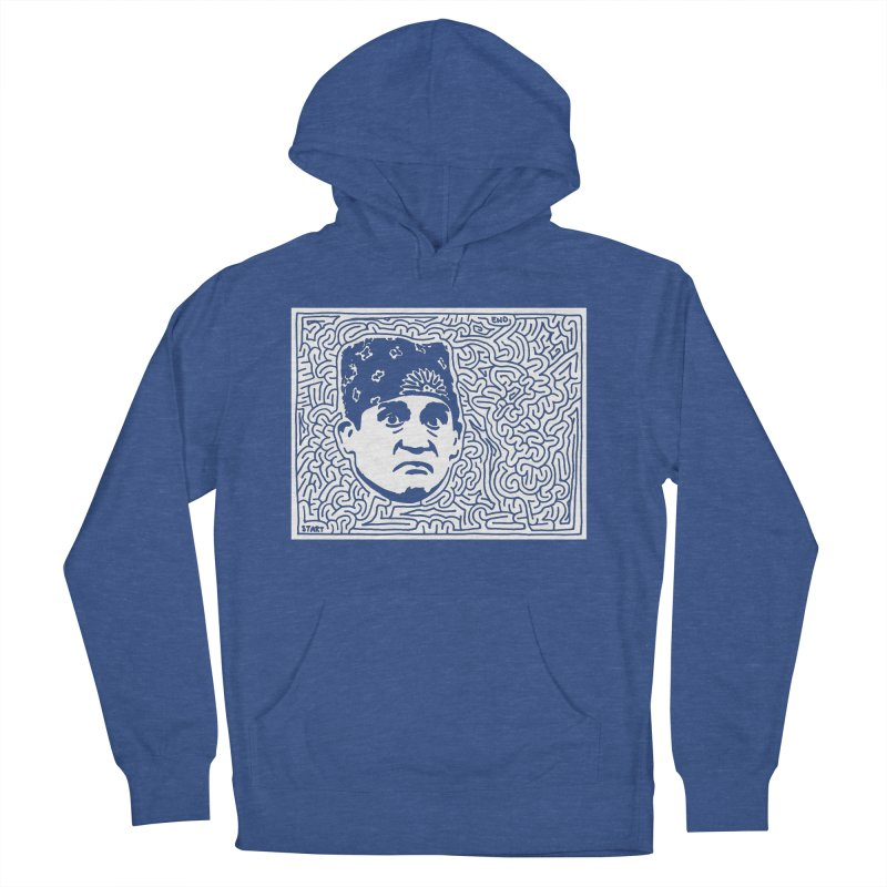 Prison Mike Women's French Terry Pullover Hoody by I Draw Mazes's Artist Shop