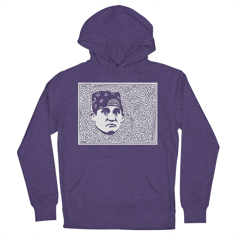 Prison Mike Men's French Terry Pullover Hoody by I Draw Mazes's Artist Shop