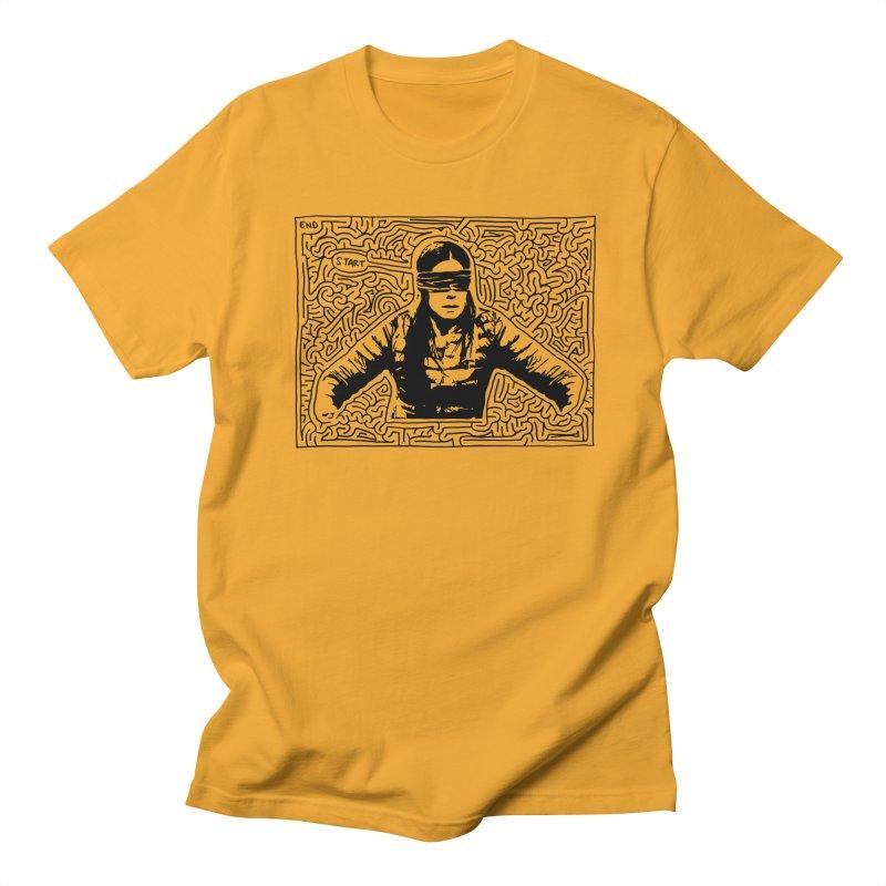 Sandra Bullock Men's Regular T-Shirt by I Draw Mazes's Artist Shop