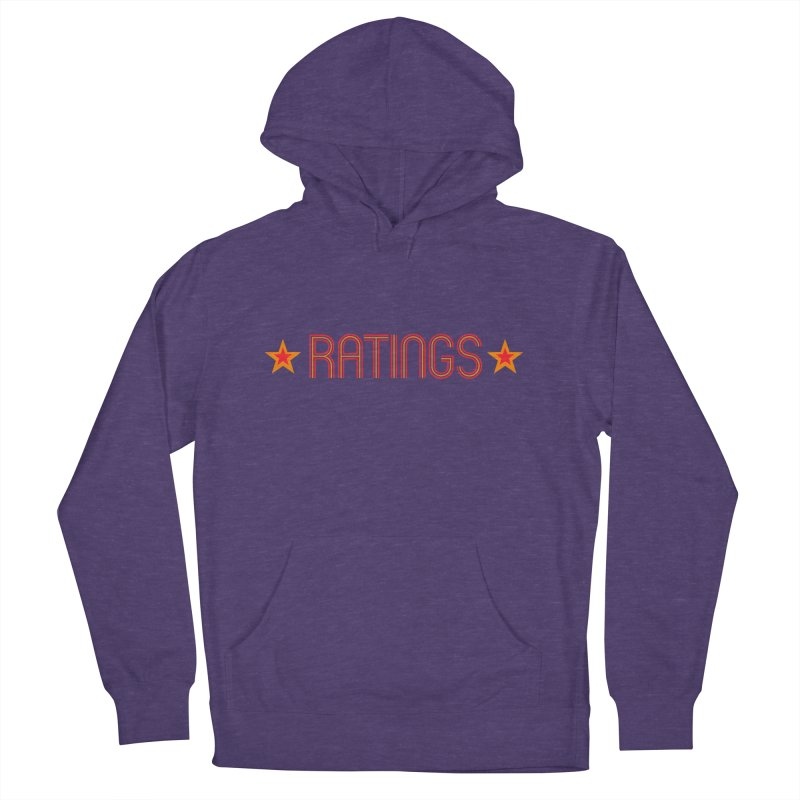 Ratings Men's French Terry Pullover Hoody by iFanboy
