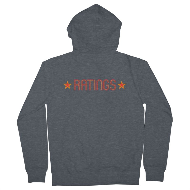Ratings Men's French Terry Zip-Up Hoody by iFanboy