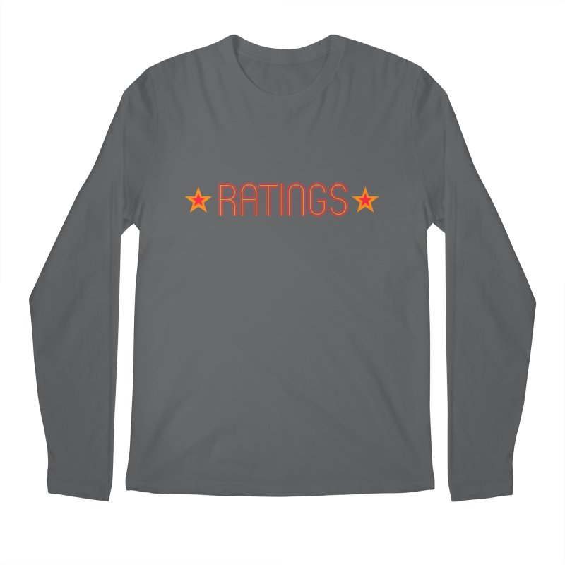 Ratings Men's Longsleeve T-Shirt by iFanboy