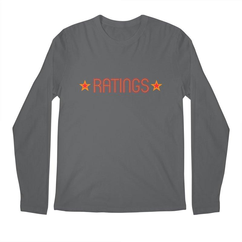 Ratings Men's Regular Longsleeve T-Shirt by iFanboy