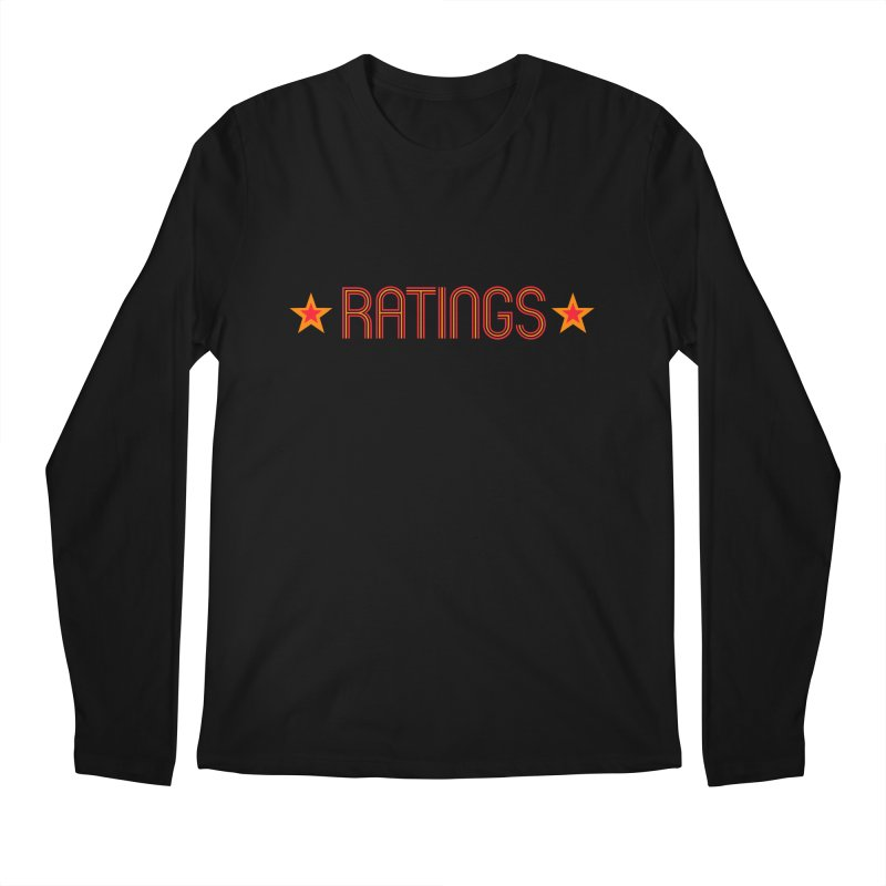 Ratings Men's Regular Longsleeve T-Shirt by iFanboy