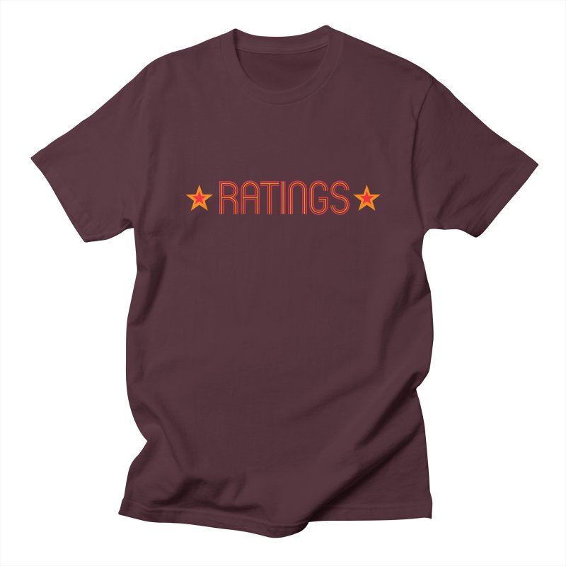 Ratings Women's Regular Unisex T-Shirt by iFanboy