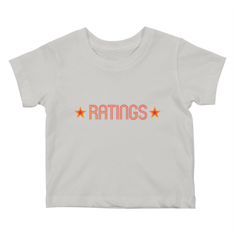 Ratings Kids Baby T-Shirt by iFanboy