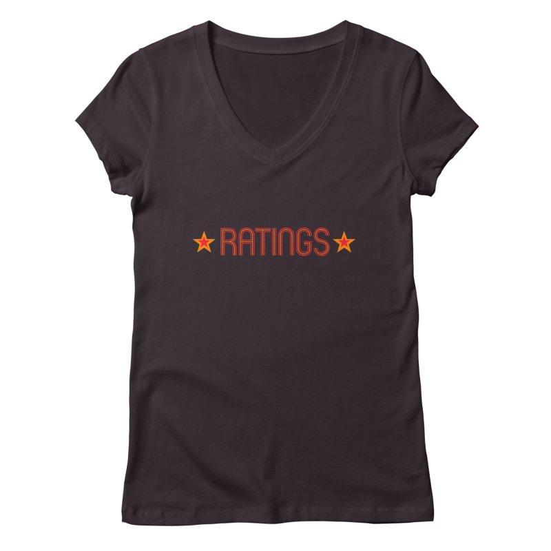 Ratings Women's V-Neck by iFanboy