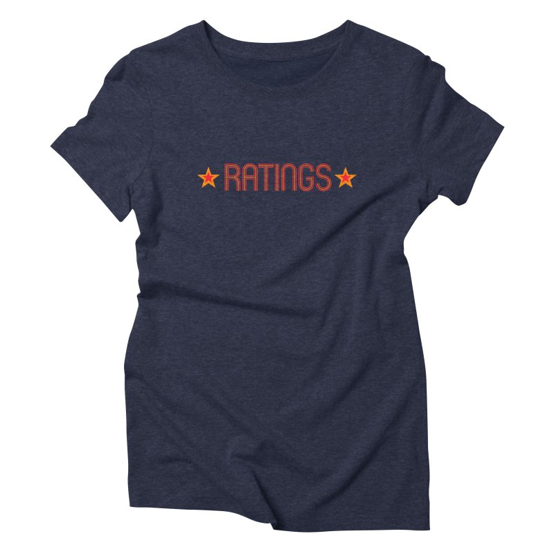 Ratings Women's Triblend T-shirt by iFanboy