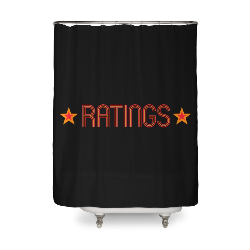 Ratings Home Shower Curtain by iFanboy