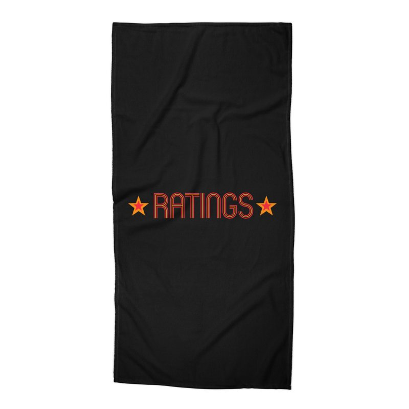 Ratings Accessories Beach Towel by iFanboy