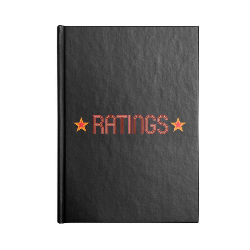 Ratings Accessories Blank Journal Notebook by iFanboy