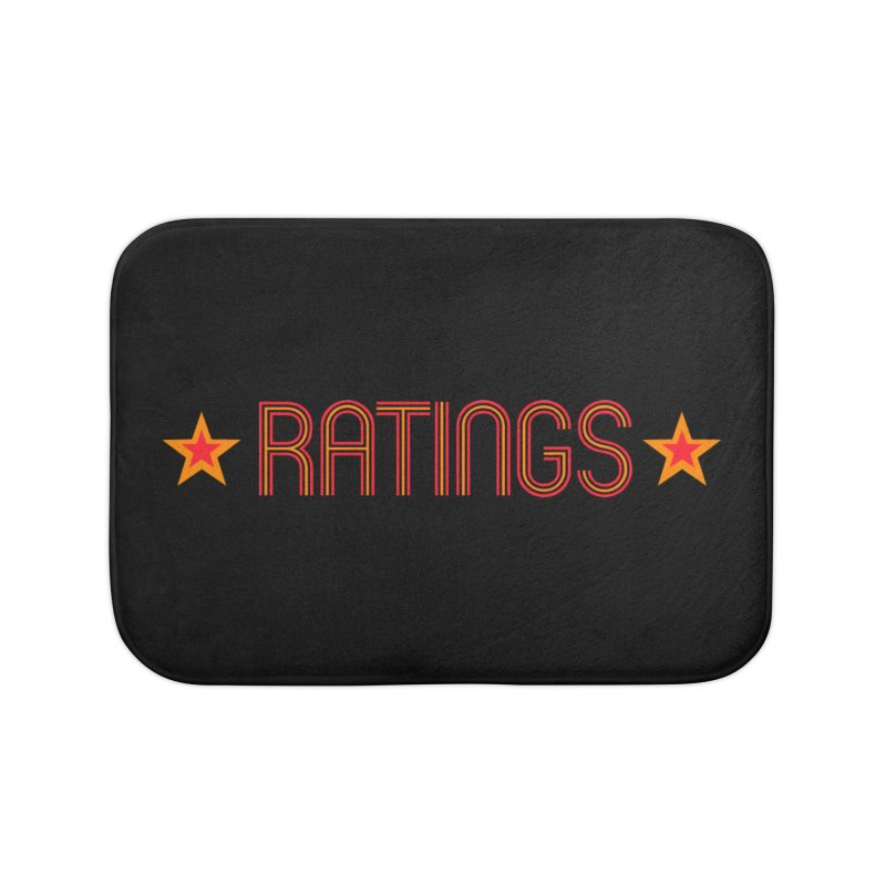 Ratings Home Bath Mat by iFanboy