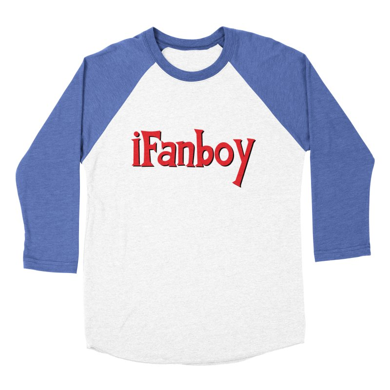 iFanboy Men's Baseball Triblend T-Shirt by iFanboy