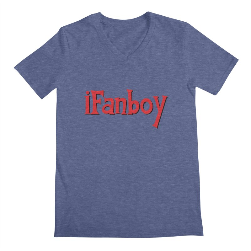 iFanboy Men's Regular V-Neck by iFanboy