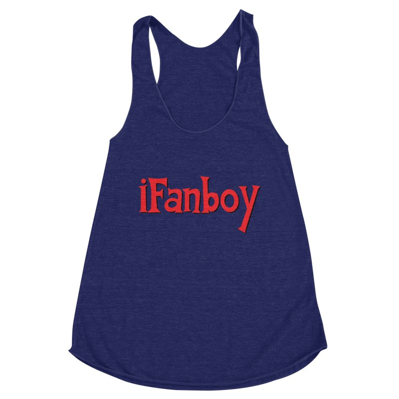 iFanboy Women's Racerback Triblend Tank by iFanboy