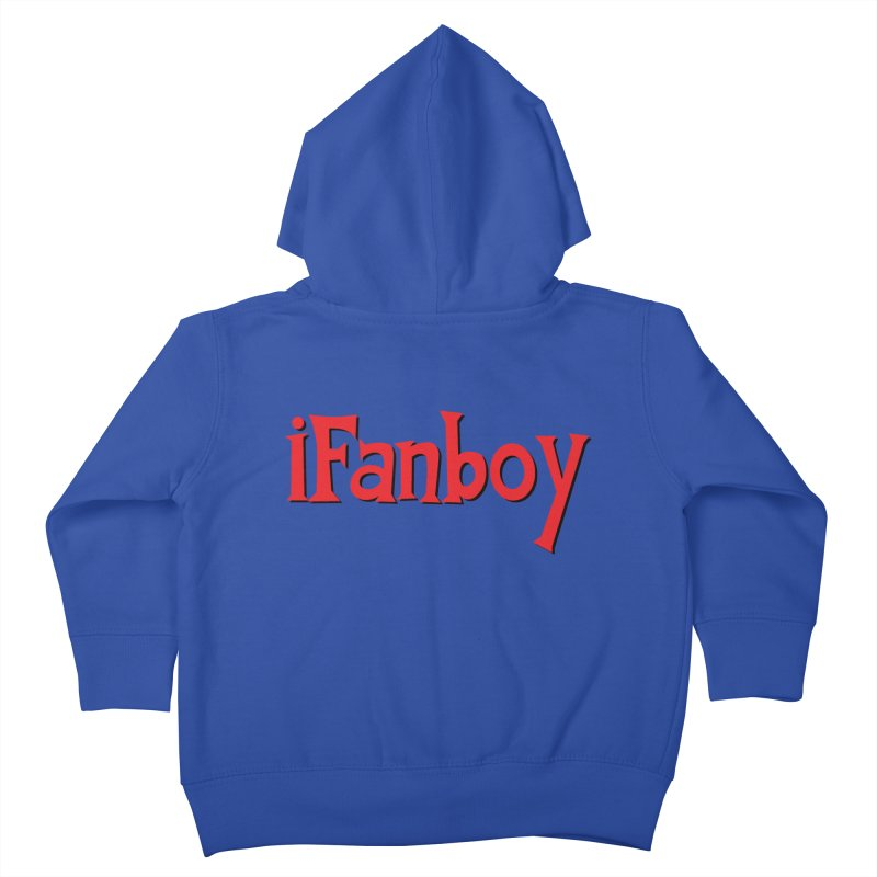 iFanboy Kids Toddler Zip-Up Hoody by iFanboy