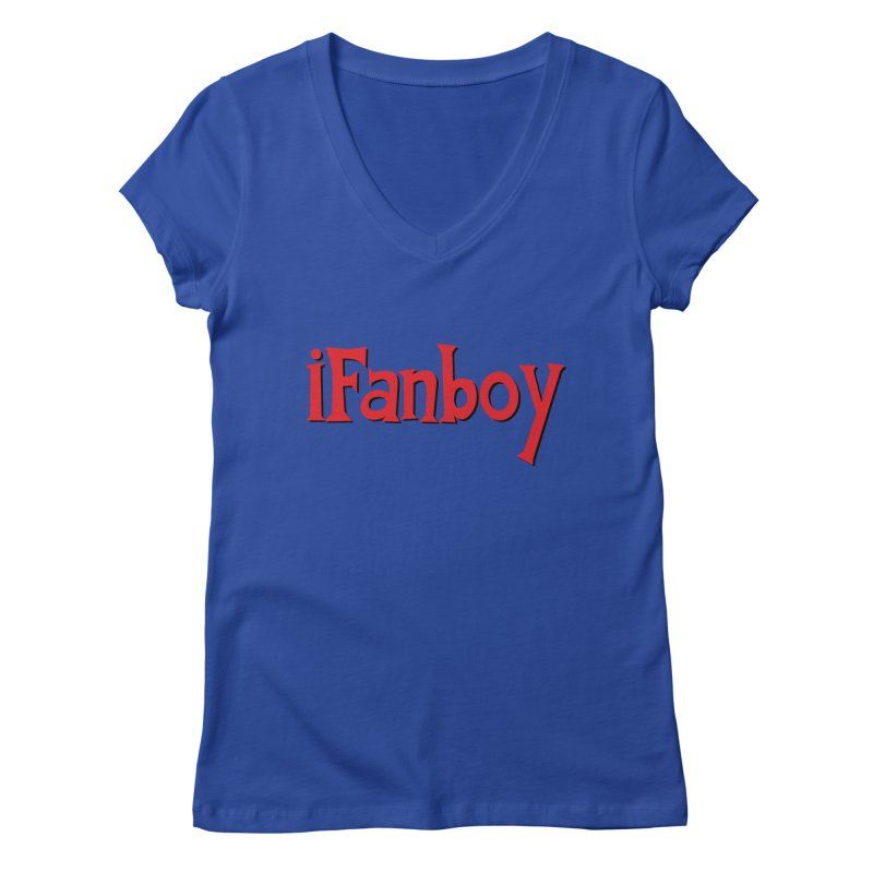 iFanboy Women's V-Neck by iFanboy